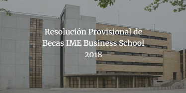 resolucion provisional de becas
